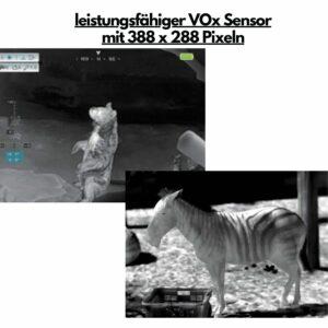 Leistung der Xeye ML19 Mini Wärmebildkamera mit VOx Sensor
