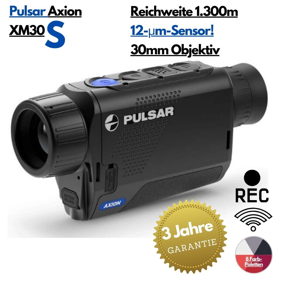 Pulsar Axion XM30s Wärmebildkamera