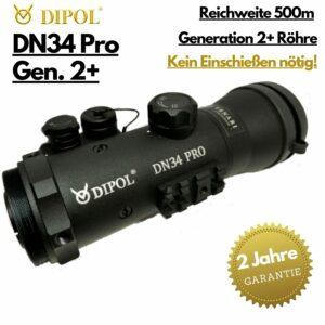 Dipol DN34 Gen.2+ Nachtsicht Vorsatzgerät