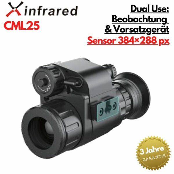 Xeye CML25 Clip On Wärmebildvorsatzgerät