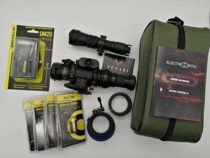 Nivex 2 Digital Komplettpaket mit Adapter & Akkus