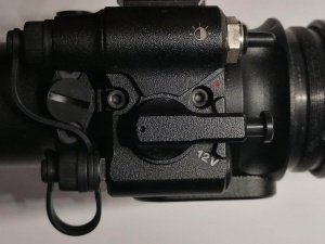 Nivex 2 Digital An/Aus Schalter & Helligkeitsregler