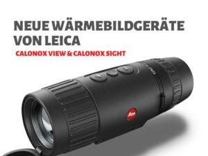 Leica CALONOX View Wärmebildkamera VENARI Jagdtechnik