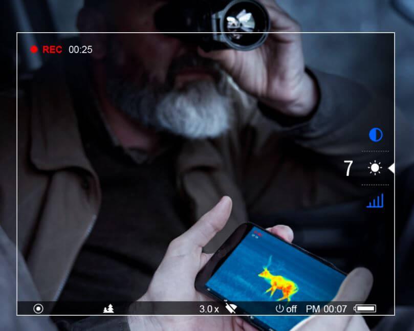 helion 2 xp50 Wärmebildkamera - Mediaausstattung - Venari Jagdtechnik