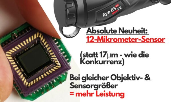 Neuer Sensor des E3 Max V2