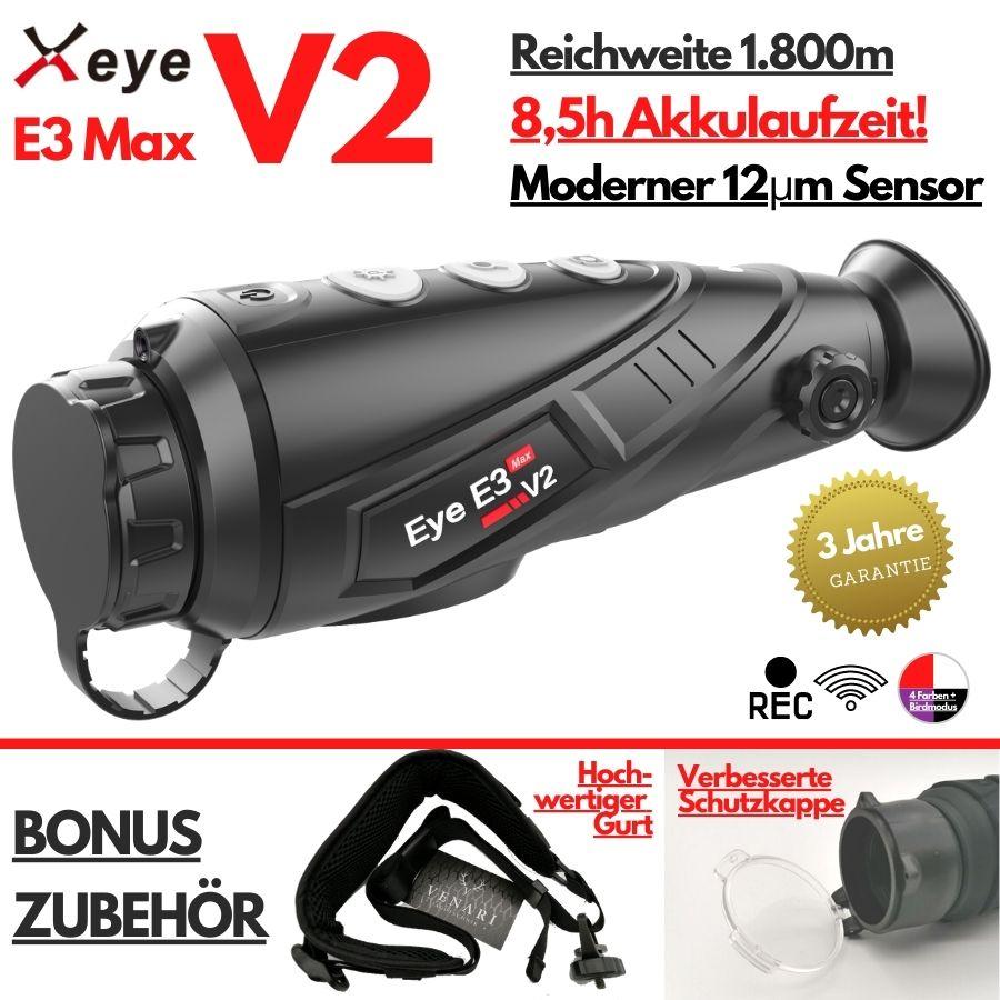 Xeye E3 Max V2.0 - Wärmebildkamera für die Jagd