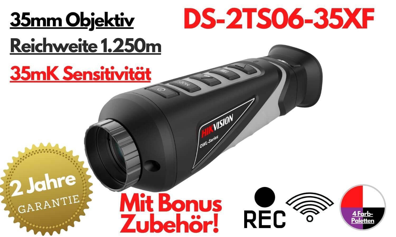DS-2TS06-35 - Wärmebildkamera - VENARI - 2 Jahre Garantie