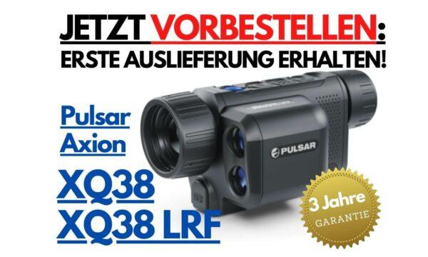 Pulsar Axion XQ38 LRF - Wärmebildkamera mit Entfernungsmesser