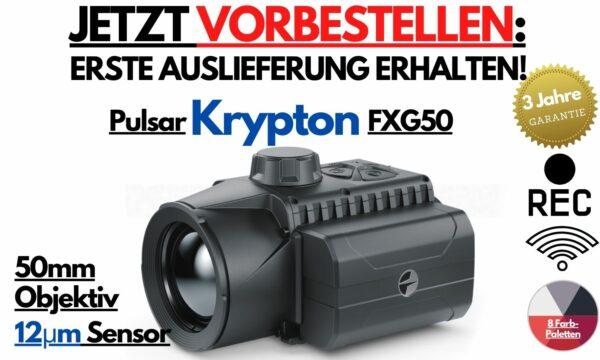 Pulsar Kryption FXG50 Wärmebild Vorsatzgerät