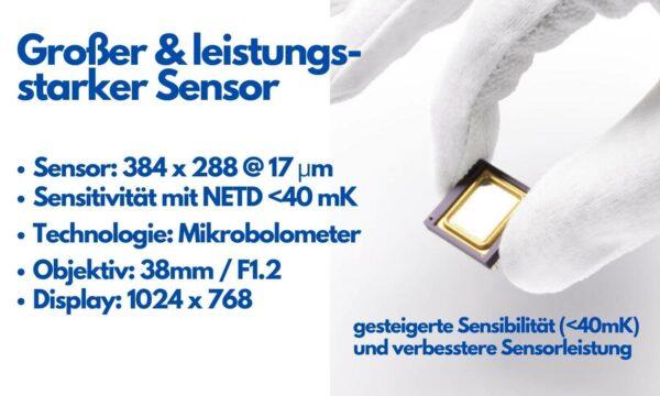 Sensor des Pulsar Axion XQ38