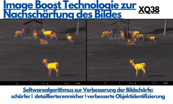 Vorteil der Image Boost Technologie