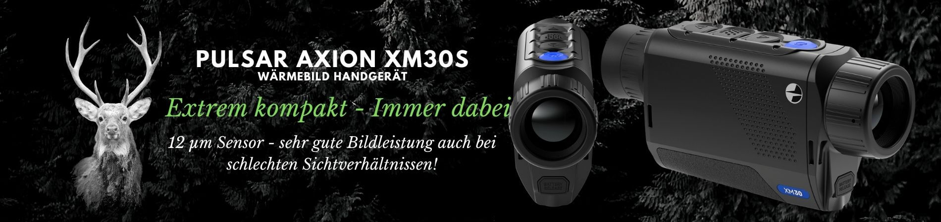Pulsar Axion XM30s - Wärmebildkamera (1)