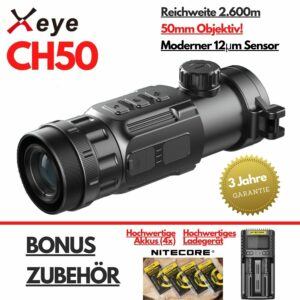 Xeye CH50 Wärmebild Vorsatzgerät