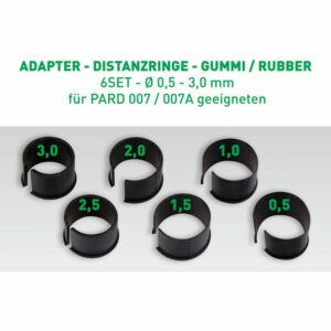 Distanzringe Set (für PARD Standart Alu-Adapter)