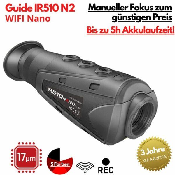 Guide IR510 Nano N2 Wärmebildkamera