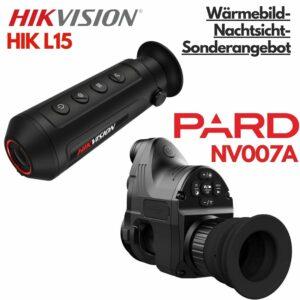 Bundle: HIKvision DS-2TS03-15XF/W (Lynx L15) & PARD NV007A
