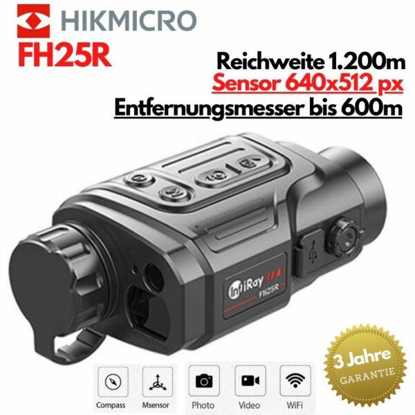 Xeye FH25R Wärmebildkamera mit Entfernungsmesser