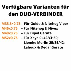 VENARI Duo-Verbinder (Bajonettring)